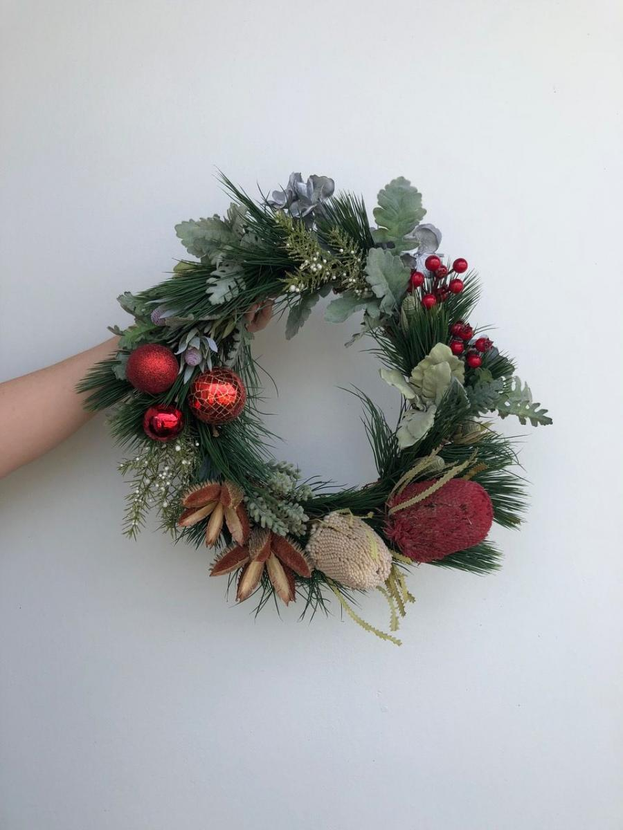 Christmas - Festive Dried Floral Wreath Workshop