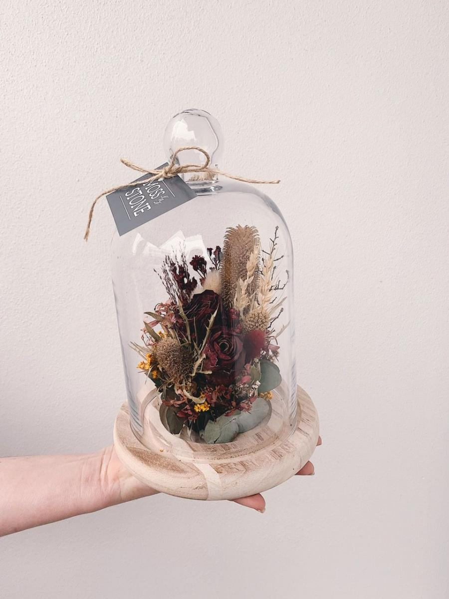 Christmas - Festive Dried Floral Dome Workshop