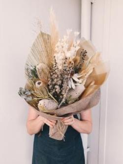 Dried Floral Bouquet Workshop