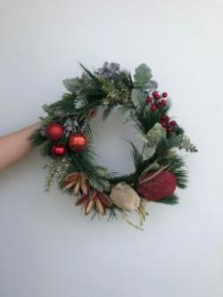 Christmas - Festive Dried Floral Wreath Workshop
