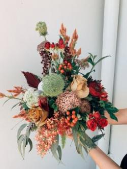 Christmas - Fresh Floral Table Arrangement Workshop
